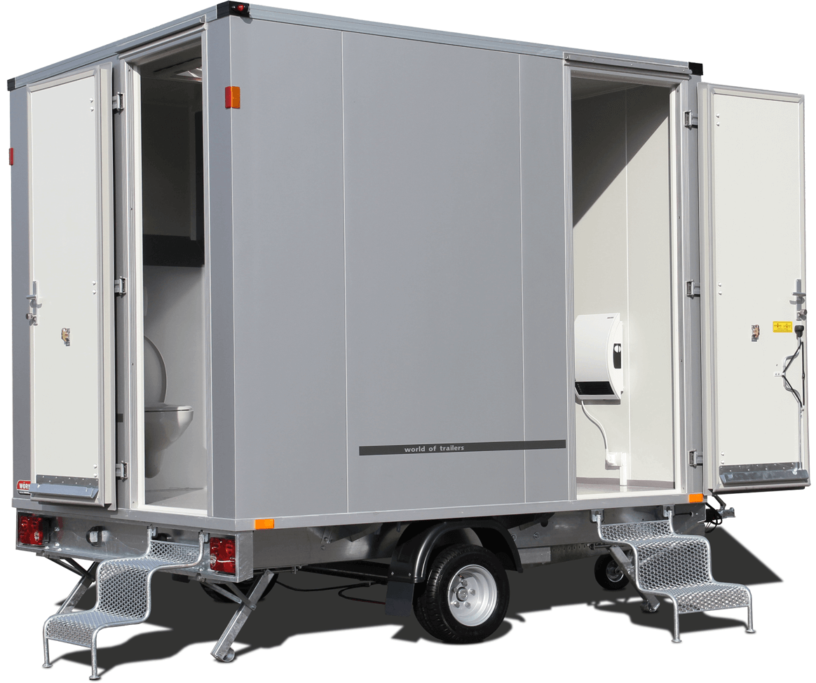 Event-Toilettenwagen WC 300